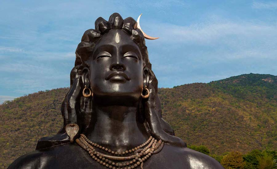 112-Feet Tall Statue of Lord Shiva 'Adiyogi' in Tamil Nadu enters