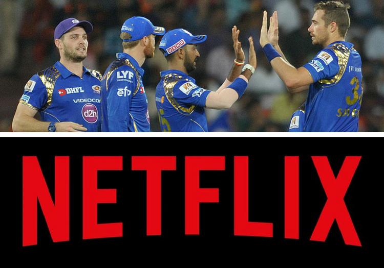 Netflix to produce 8-part Documentary Series on Mumbai Indians