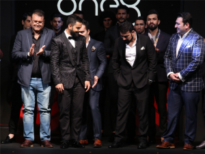 Virat Kohli launches his formal footwear brand 'One8 Select' in collaboration with Aeon sports