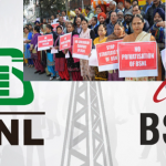 BSNL, Mahanagar Telephone Nigam, Narendra Modi, Reliance Jio, Reliance Bharat Sanchar Nigam Limited, Bharti Airtel, June Salaries, Pending Salaries, Telecom Ministry, Unpaid Salaries, Indian Slowdown, Indian Telecom sector, Telecom Companies, DOT