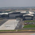Hyderabad International Airport, Airports Council International, ACI, Airport Service Quality, Ministry Of Civil Aviation, GMR Infrastructure Limited, Tata Group, Singapore, GIC, SSG Capital Management, GMR Airports Limited, GAL, GMR Group, India, Asia, Indira Gandhi International Airport, New Delhi, Rajiv Gandhi International Airport, GMR Infra, GMR, Tatas, Adani, Airports Authority Of India