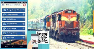 Indian Railways, QR Codes Train Tickets, Indian Railway Stations, Railways Ticket Bookings, npci, fintech, digital economy, technology, payments, Paperless Railway Ticket Booking, Local Trains, IRCTC, UTS App, unreserved tickets, utsonmobile, Kiosk Desks, Mobile Ticketing